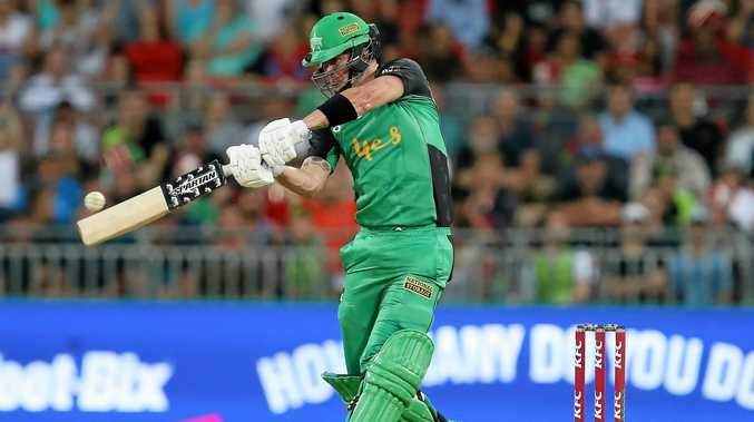 Kevin Pietersen hits out for the Melbourne Stars.