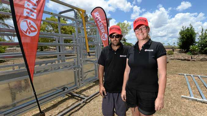 NEW CHAPTER: Warwick and Louise Kime have started a new business as distributors of Brazzen rural products.