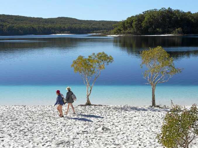 Lake McKenzie Fraser Island.