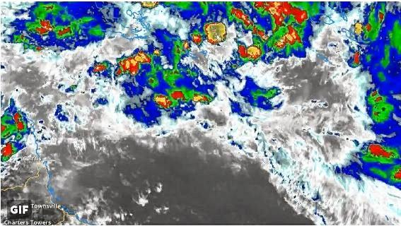 The Bureau is monitoring a weather system off the Queensland coast.