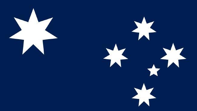 The new proposed design of the Australian flag by Ausflag.