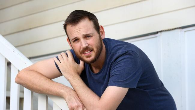 Ben Dwyer has lost almost 20kg in a month due to a shock stage four cancer diagnosis. Picture: Adam Head