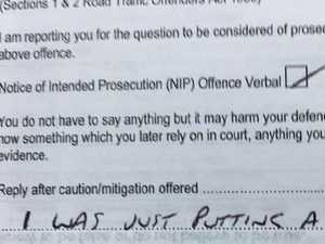 Man's 'laughable' attempt to get out of fine