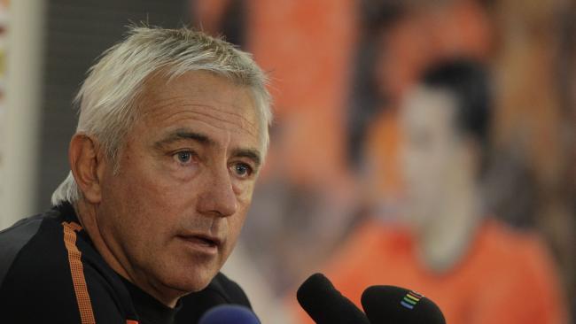 Netherlands head coach Bert van Marwijk