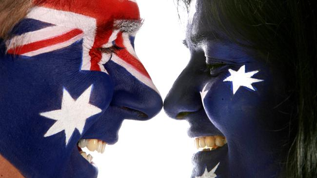 I am, you are, we are Australian.
