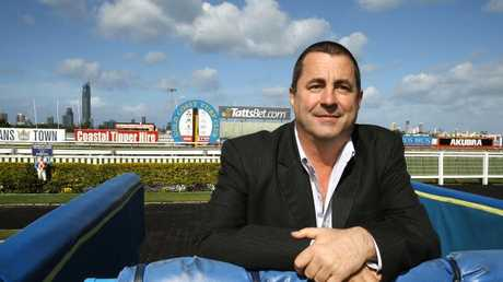 Gold Coast Turf Club chairman Brett Cook says the installation of lights has to coincide with the development of the training track. Picture: David Clark.