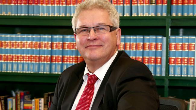 Criminal lawyer Bill Potts. Picture: Mike Batterham