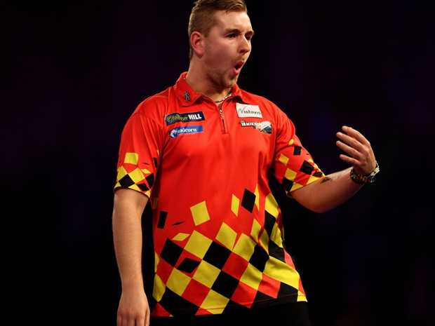 Van den Bergh ended with an average of 108 with Taylor also impressive with 102.