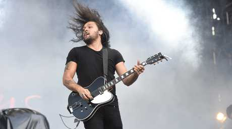 Gang of Youths perform at Splendour in the Grass 2016 at Byron Bay. Photo Marc Stapelberg / The Northern Star