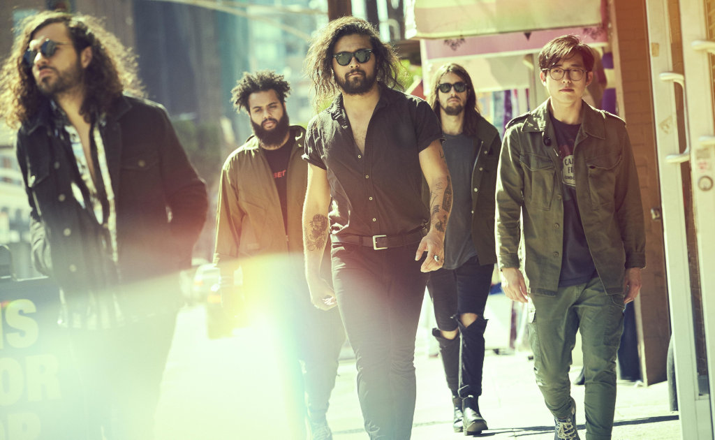 Sydney rock band Gang of Youths has released a new album. Supplied by Sony Music.