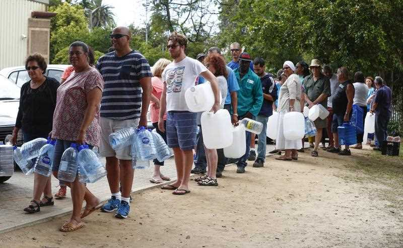 The City of Cape Town is currently in the midst of a severe water crisis. 'Day Zero' when the water runs out in the city is estimated to be 22 April 2018. Day Zero comes when the dam levels reach 13.5 percent and most taps will be turned off. Currently dam levels are at 28.7 percent.