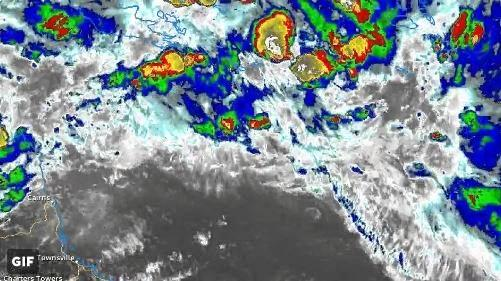 BOM meteorologist Daniel Woods said there was a 20-50% chance of a cyclone forming in the Coral Sea today or tomorrow.