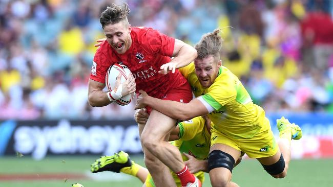 Australia were too good for Canada in their second pool match.