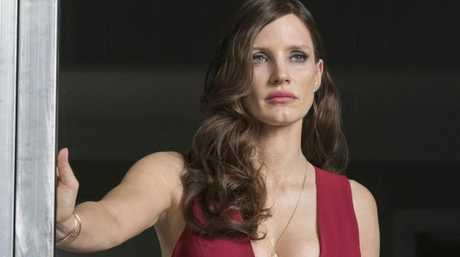 Jessica Chastain stars as Molly Bloom, a former freestyle skier who is arrested for running a high-stakes poker game. Picture: Supplied
