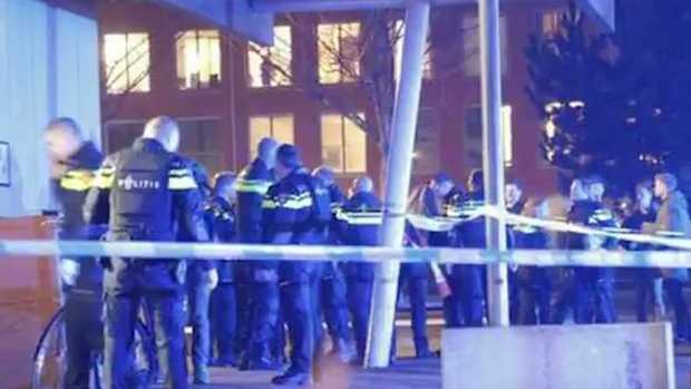 One person has died and multiple others injured after a shooting in Amsterdam. Picture: Sunrise