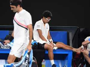 Brutal photo shows Hyeon Chung's Australian Open injury
