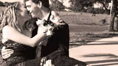 Dustin Snyder and Sierra Siverio plan to wed this Sunday. Picture: Facebook