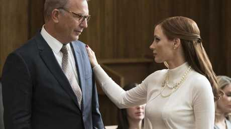 Kevin Costner (Larry Bloom) proves his acting chops in Molly's Game. Picture: Supplied
