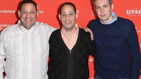 David Kellman, Robert 'Bobby' Shafran and director Tim Wardle attend the world premiere of the film.