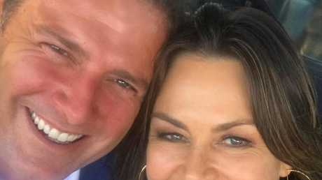 It's all sweet: Lisa Wilkinson and Karl Stefanovic have lunch together in Sydney in the wake of her shock departure from Today. Picture: Instagram