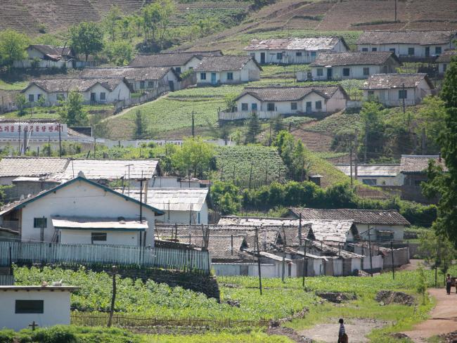 North Korea is stricken with extreme poverty with farmers resorting to using human excrement as fertiliser. Picture: Supplied