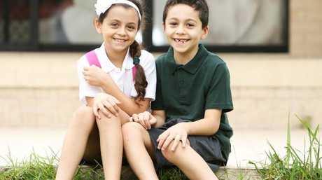 Hayam Malkawi and her brother Ryan, are still trying to cope with the tragic accident, where two young students died. Picture: Tim Hunter