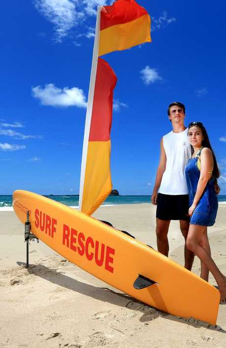Liam Towner, 19, and Emily McClymont, 18, had decided to drive from Ormeau to Dreamtime Beach for their first date on January 18.