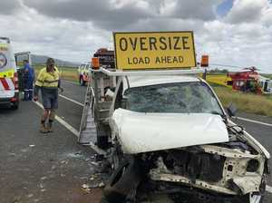 One critically injured in Pacific Highway smash