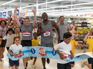 World champ athletes support Ipswich school sports drive