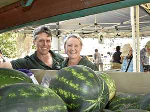 Watermelon farmers embrace Toowoomba markets