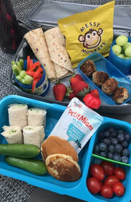 There's many options for packing a healthy kids' lunch box. Picture: Susie Burrell