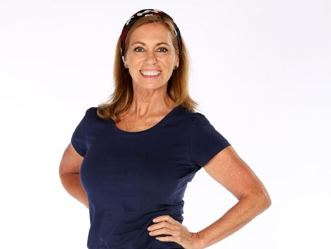 Kerry Armstrong, why are you on this show? Oh yeah — money. Picture: Nigel Wright/Network Ten.
