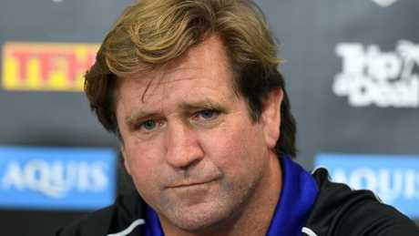 Des Hasler was sacked by the Bulldogs at the end of last season.
