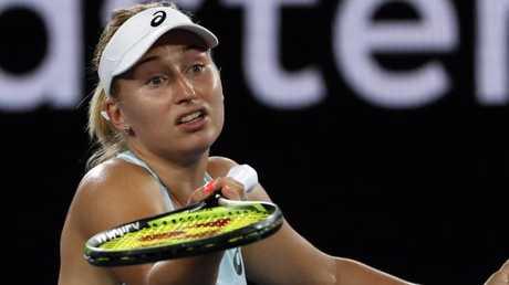 Daria Gavrilova had no answers. Picture: AP Photo