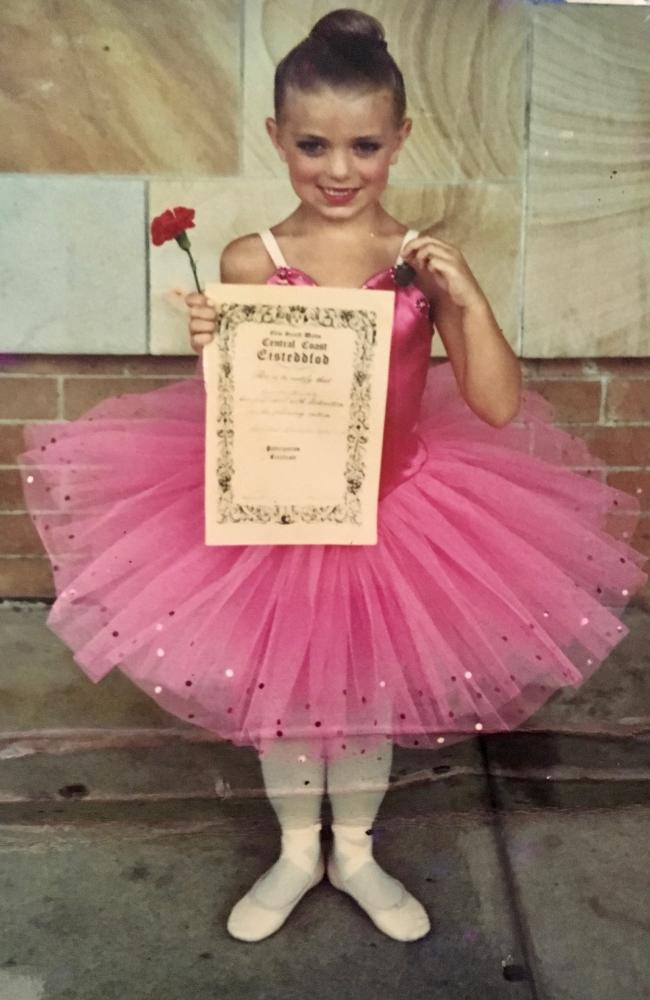 Jemma McGeachie started dancing as a young child and loved it.