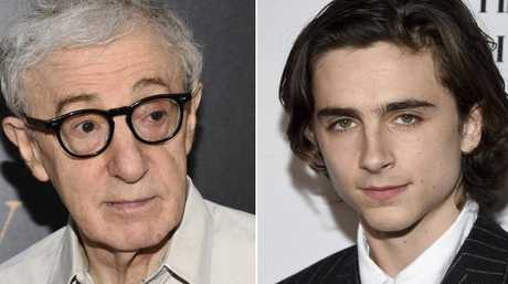 Woody Allen's latest film starring Timothee Chalamet — who has distanced himself from the actor — may never be released.