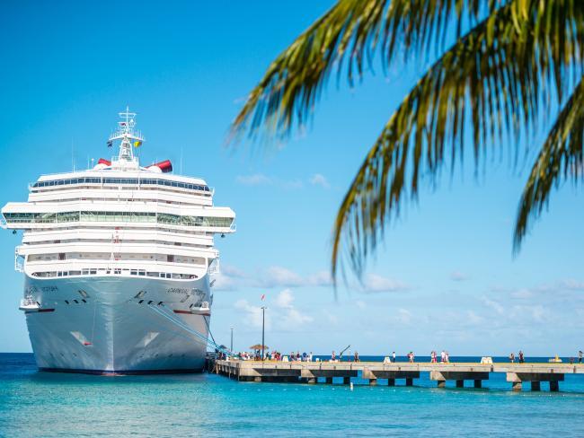 The Caribbean cruise season runs from November to April.