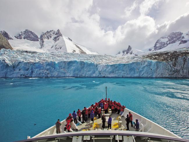 Antarctica cruises are especially popular. Picture: Silversea