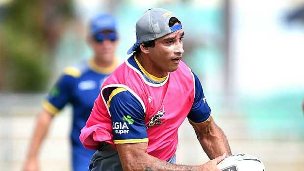 North Queensland Cowboys pre-season training. Johnathan Thurston. Picture: Alix Sweeney