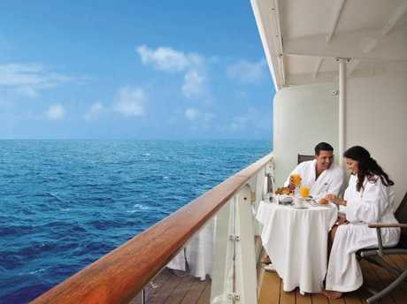 Balcony cabins are among the most popular. Picture: Celebrity Cruises