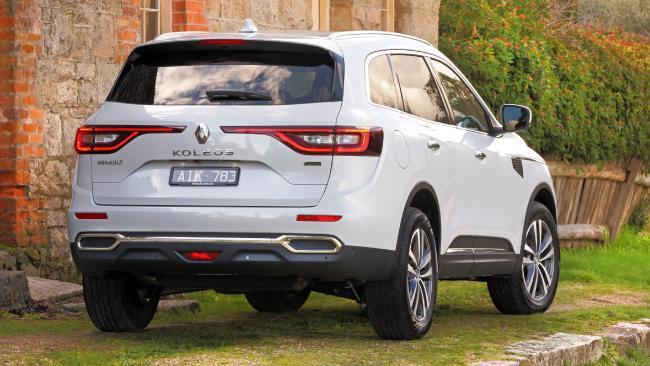 Ride like a Renault: The Koleos sits flatter through corners than the 3008.