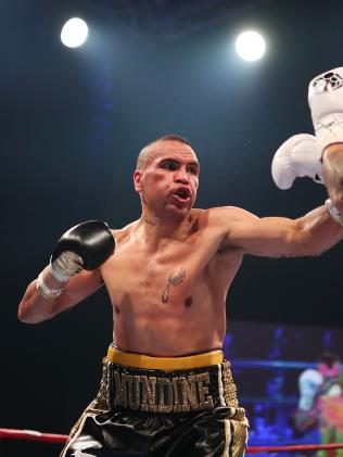 Mundine is set for a real-life Rumble in the Jungle. Picture: Brett Costello