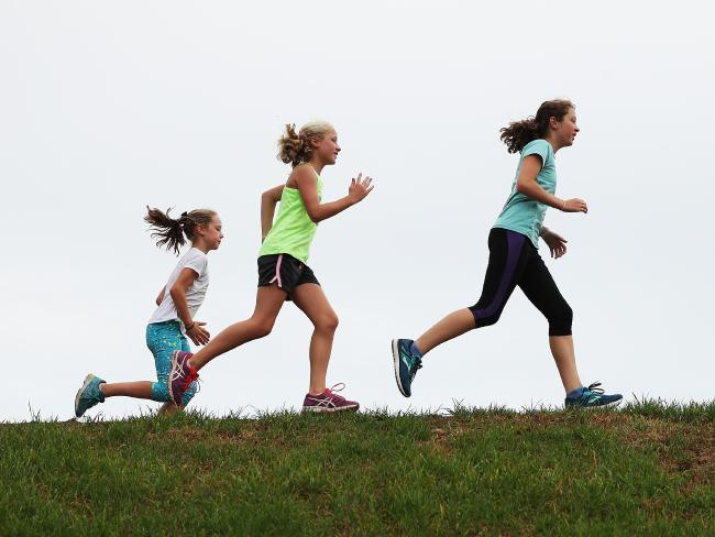 Research shows children's activity level drops between the ages of 13 and 18.