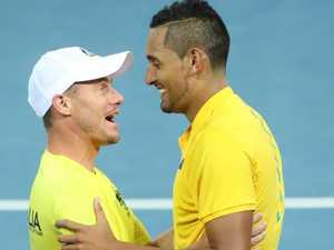Kyrgios-led Aussies ready for Davis Cup: Hewitt
