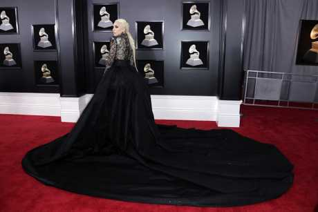 Lady Gaga arrives for the 60th annual Grammy Awards ceremony at Madison Square Garden in New York, New York, USA, 28 January 2018.