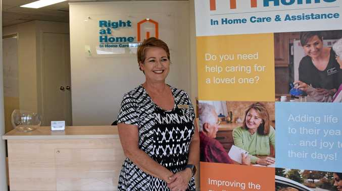 PERSONALISED SERVICE: Right at Home Central Queensland managing director, Gabrielle Wieland says she'll provide a caring service to her clients.