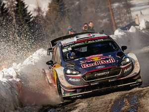Ogier wins WRC opener in 'impossible' conditions
