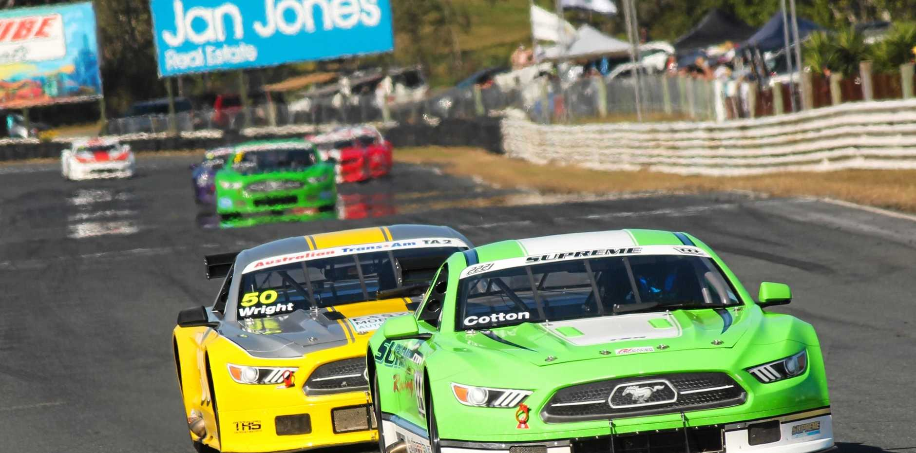 The Performax Cup is a six-round series starting at Winton in Victoria on March 10-11 for American muscle cars based on Ford Mustangs, Chev Camaros and Dodge Challengers.