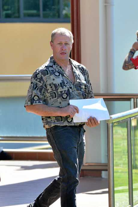 Stephen Armitage of Investigator Av Cooloola Cove.  Police searched house in relation to Toolara Forest skull.  Photo Patrick Woods / The Gympie Times