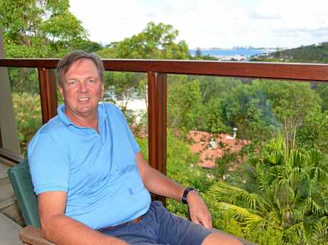 Currumbin retiree Rob Allen, now an Australian citizen, enjoys the outdoor culture and mateship.